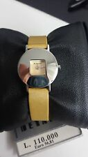 OM14-143 DETAILS VINTAGE OROLOGIO DONNA CINTURINO COLOR ORO LADY WOMAN WATCH UHR