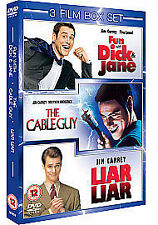 Cable Guy /Fun With Dick And Jane /Liar Liar [DVD] GREAT CONDITION FREE POSTAGE