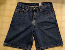 Levis Mens Size 33 Denim Blue Jean Shorts 550 Relaxed Fit