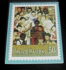 U.N.1991 UNITED NATIONS POSTAL ADMINISTRATION CHRISTMAS CARD, NICE!! LQQK!!!