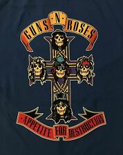GUNS N' ROSES cd cvr Appetite for Destruction ROYAL CROSS Official SHIRT MED new