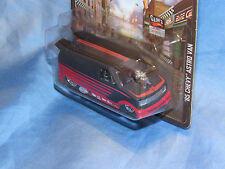 Hot Wheels BLVD Boulevard 85 Chevy Astro Van Real Riders 1/64 Drag Van