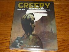Creepy Archives Volume 7, SEALED, Warren, Dark Horse, hardcover book Frazetta!