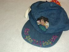 "Vintage NWT Disney ""THE HUNCHBACK OF NOTRE DAME"" Esmeralda girls hat cap"