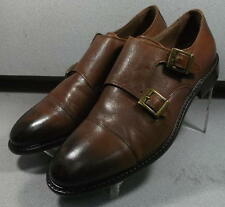 203552 MS50 Men's Shoes Size 10 M Brown Leather 1850 Collection Johnston Murphy