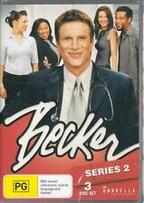 BECKER SERIES 2 - 3 DISC SET -  NEW & SEALED R4 DVD FREE LOCAL POST