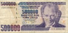 TURQUIE TURKEY 500000 LIRA 679 état voir scan