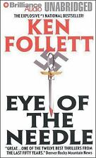 EYE OF THE NEEDLE unabridged audio book on MP3 CD by KEN FOLLETT
