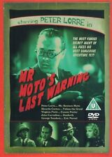 Mr. Moto's Last Warning (1939), Region Free, BRAND NEW, SEALED, Peter Lorre, DVD