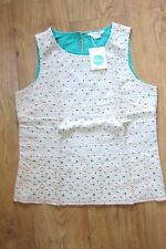 New with Tags Boden Broderie Top UK 12 EU 38 US 8