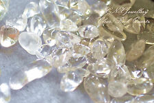 Tumbled Gemstone Crystal Natural Clear Quartz Chip Stone 5g