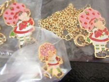 3   VINTAGE  SEALED   STRAWBERRY SHORTCAKE DOLL JEWELRY 1980  KENNER  MINT !!!!