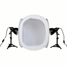 PhotoSEL PPC122 Studio Lighting Kit 52W 40cm Light Tent for Product Photography