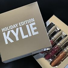 HOLIDAY COLLECTION Kylie Jenner 4PCS Liquid Lipstick Cosmetics Set