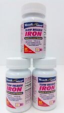 Mason Vitamins Slow Release Iron 60 Tablets (Pack of 3)