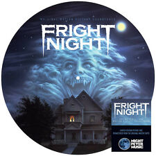 Fright Night Original Motion Picture Soundtrack Picture Disc LP Vinyl Blu Mondo