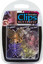 Decorative Butterfly Clips for Orchids