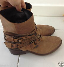 AUTHENTIQUES BOTTINES/BOOTS CLOUTÉES CO-OP BARNEYS NEW YORK T.36IT OU 37FR TBE