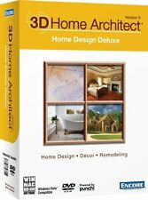 3D Home Architect Home Design Deluxe Version 9 New PC