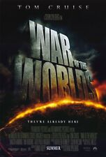 War of the Worlds Ver A Double Sided Original Movie Poster 27x40 inches