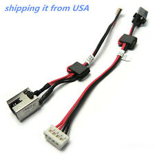 DC POWER JACK HARNESS IN CABLE FOR TOSHIBA SATELLITE L55t-A5290 6017B0422501