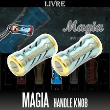 LIVRE  Handle Knob Magia 2 pieces champagne/gold
