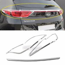 Chrome Silver Rear Light Lamp Cover Molding Garnish 5Pcs for KIA 2017 Sportage