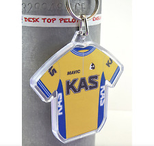 Sean Kelly KAS 1986 Cotton Cycling Jersey Keyring Tour de France Rapha Mavic
