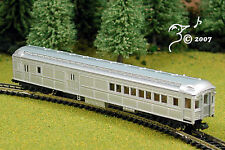 Overton Old Time Silver Combine Train Car N Scale 1:160