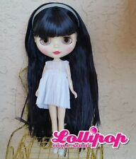 Factory Type Neo Blythe Doll Black Hair  - with Outfit OR Stand  US SELLER