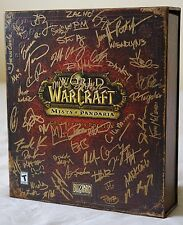 Autographed World of Warcraft: Mists of Pandaria Collector's Edition