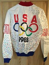 "Vintage 1988 OLYMPICS ""Team USA"" Jacket...(80s, Retro, Deadstock, Seoul, Sports)"