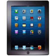 Apple iPad 4th Generation 64GB, Wi-Fi + 4G Cellular (GSM Unlocked), Black AT&T..