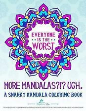 The Snarky Mandala Series the Evolution of the Sweary Coloring (FREE 2DAY SHIP)