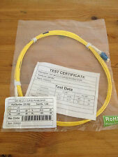 Fiber Optic Excel Patch Cable OS1 3M LC-LC Duplex 9/125 Yellow