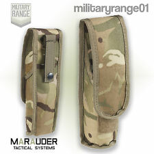 Marauder Angle-Head Torch Pouch - MOLLE - British Army MTP Multicam - UK Made