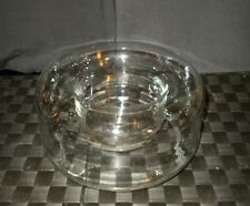 Glass Bowl Tube Flower Base For Floating Candles Made In Poland