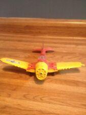 Vintage Hubley Kiddie Toys Airplane War Fighter Plane Metal