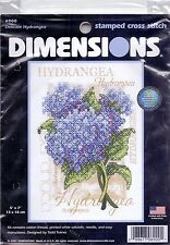 "Dimensiones Estampado Cross Stitch Kit ""delicado Hortensia"""