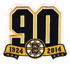 2013 2014 Boston Bruins 90th Anniversary Season Jersey Logo Patch NHL Official