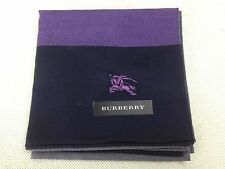 Auth Burberry Handkerchief pre-owned unused 100% Cotton 5D080712