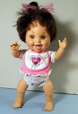 Vintage Baby Face Bathtub Doll, So Happy Hannah #20, Galoob toys 1991