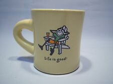 "Vintage Life Is Good ""Do What You Like, Like What You Do"" Ceramic Mug"