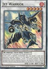YU-GI-OH CARD: JET WARRIOR - ULTRA RARE - SDSE-EN041 - 1st EDITION