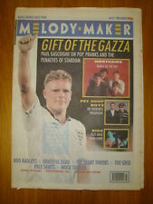 MELODY MAKER 1990 OCT 27 PAUL GASGOIGNE PET SHOP BOYS