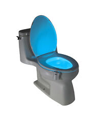 Motion Activated Flush Toilet Lamp LED Toilet Light Sensor Toilet Light