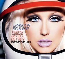 Christina Aguilera - Keeps Gettin' Better (A Decade Of Hits) - UK CD album 2008