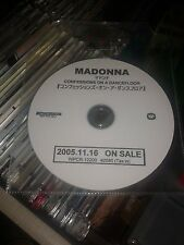 MADONNA JAPANESE PROMO CONFESSIONS CD - JAPANESE/ENGLISH DETAILS ON DISC - RARE?