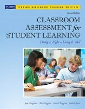 Assessment Training Institute, Inc: Classroom Assessment for Student Learning :…