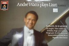 ANDRE WATTS Plays Liszt Vol 2 Sonata In B Minor  33RPM 011516 TLJ